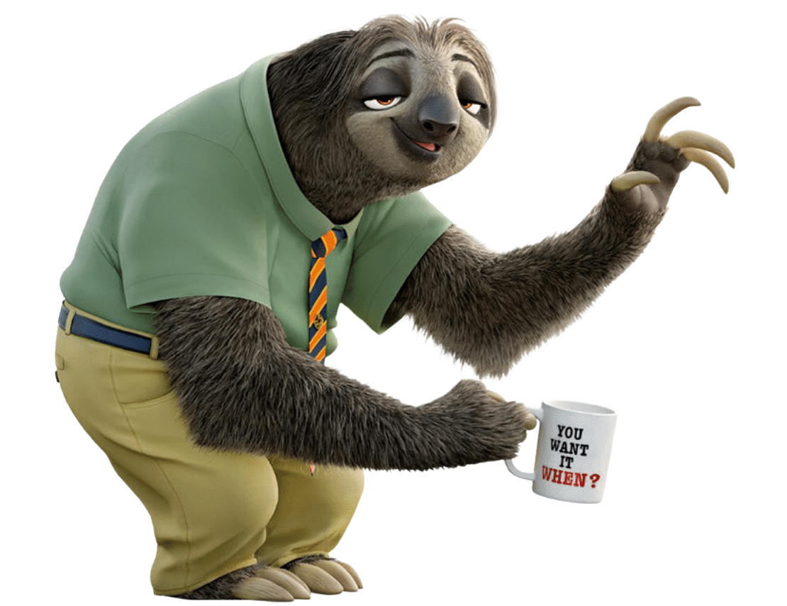 Image result for sloth zootopia
