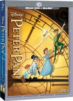 Peter Pan 2013 DVD Pack Brazil Blu-Ray