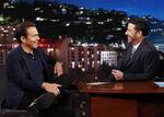 Will Arnett visits Jimmy Kimmel