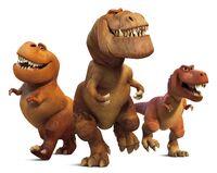 Тираннозавры - Хороший динозавр