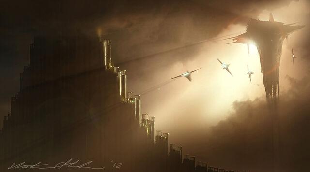 File:Asgard under attack TDW Concept Art 1.jpg