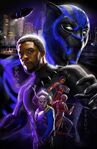 Black Panther poster art