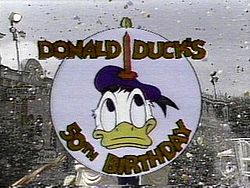 Donald's 50th Birthday logo