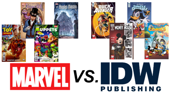 Marvel VS IDW