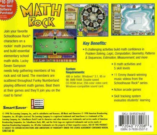 Logic 20 Math Skills  New CD Math Rock  Problem Solving Schoolhouse Rock