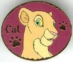 Nala Cat Pin