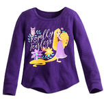 Rapunzel Thermal Tee for Girls - Tangled The Series