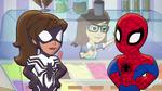 Spider-Man and Spider-Girl in Marvel Super Hero Adventures