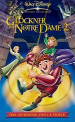 The Hunchback of Notre Dame II Germany VHS