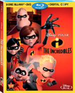 The Incredibles Blu-ray DVD