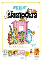 True Original Aristocats Theatrical Poster