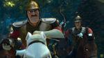 Anführer der königlichen Garde im Film 4