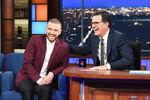 Justin Timberlake visits Stephen Colbert