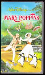 Mary Poppins 1990 UK VHS