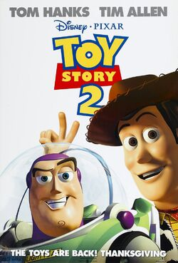 Movie poster toy story 2