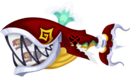 Red Trident Tail KHX