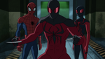 Ultimate Spider-Man - 4x21 - Spider Slayers, Part One - Spider-Man, Scarlet Spider and Ultimate Spider-Woman 2