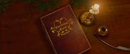 A Christmas Carol storybook closing