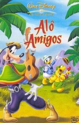 Alô Amigos - Pôster Nacional
