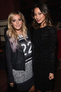 Ashley Tisdale & Jamie Chung at America Dallas Love Field Launch Celebration