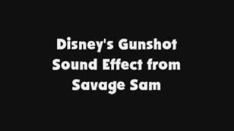 Disney's Gunshot SFX from Savage Sam