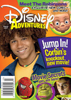 Disney Adventures Magazine cover March 2007 Corbin Bleu