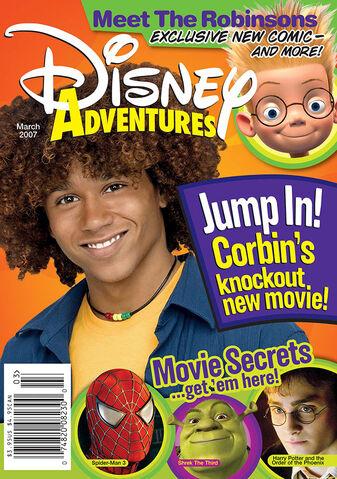 File:Disney Adventures Magazine cover March 2007 Corbin Bleu.jpg