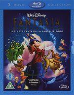 Fantasia & Fantasia 2000 (2010 UK Blu Ray)