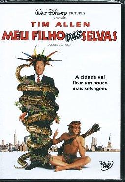 Meu Filho das Selvas - Capa DVD