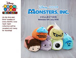 Monsters, Inc. Tsum Tsum Tuesday UK