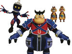 Pete Chip and Dale Heartless KH figures