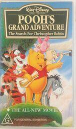 Pooh's Grand Adventure 1998 AUS VHS