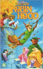 Robin Hood 1998 Dutch VHS