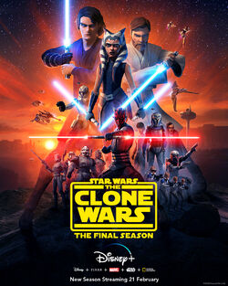 Star Wars The Clone Wars final season poster