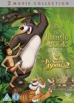 The Jungle Book 1-2 Box Set UK DVD