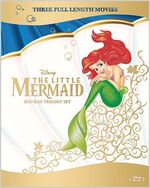 The Little Mermaid Trilogy Japan Blu-Ray