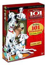 101 Dalmatians 1-2 2008 Box Set UK DVD