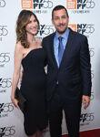 Adam Sandler with wife Jackie
