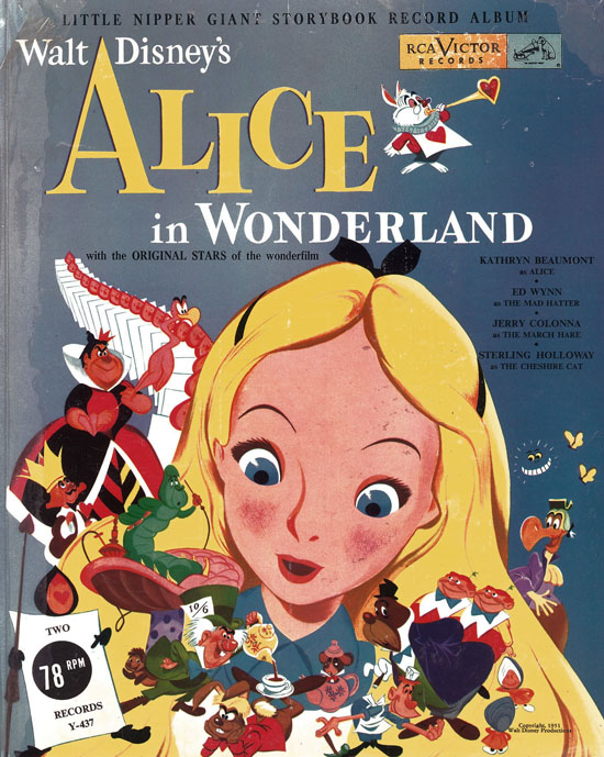 Walt Disney S Alice In Wonderland With The Original Stars Of The
