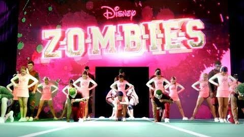 BAMM Cheer Routine ZOMBIES Disney Channel
