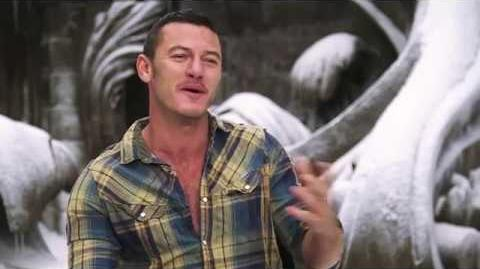 Beauty and the Beast Luke Evans Official Movie Interview