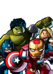 Big four-Avengers group