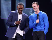 Chris Evans Anthony Mackie D23