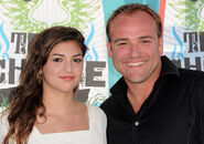 David DeLuise and daughter Riley Teen Choice Awards
