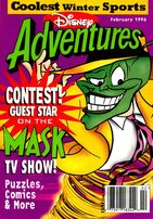 Disney Adventures Magazine cover February 1996 The Mask