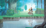 Disney Princess Aurora's Story Illustraition 8