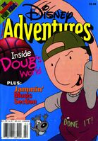 Disney adventures feb 1997 cover doug