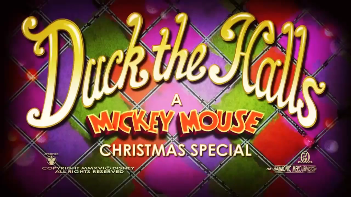 Duck the Halls: A Mickey Mouse Christmas Special | Disney Wiki ...