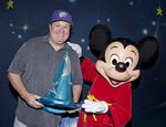 Eric Stonestreet with Mickey