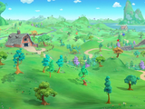 Fairy Tale Forest (Goldie & Bear)